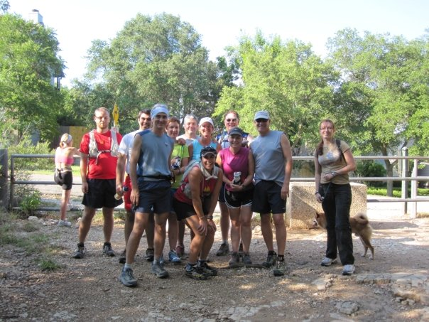 Hill Country Trail Runners Wednesday Night Club Run