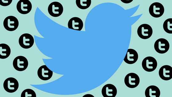 Twitter bird icon surrounded by symbol for tweets