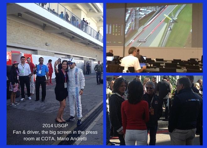 Montage of USGP 2014 images
