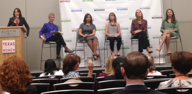 Panel of experts at Texas Conference for Women