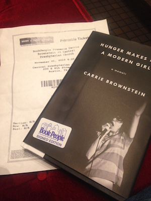 Cover of Carrie Brownstein's new book