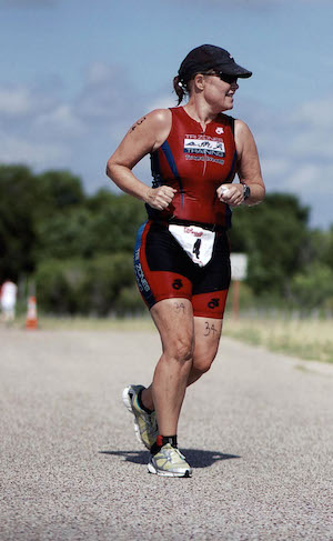 Leah Nyfeler Sprint Triathlon Run