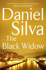 Book jacket for The Black Widow by Daniel Silva