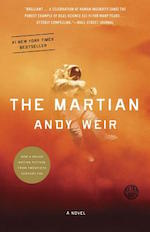 Book jacket of The Martian by Andy Weir