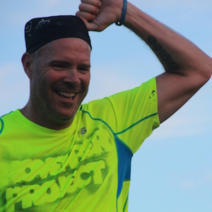 Brian Fons, one of the group leaders for Project Austin, a free workout