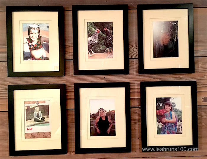 Six photos arranged in a grid celebrating daughter's birthday.