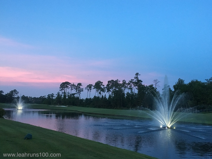 Sunrise at Hilton Orlando Bonnet Creek